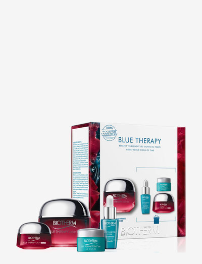 Blue Therapy Red Algae Cream 50ml Set - lahjapakkaukset - clear