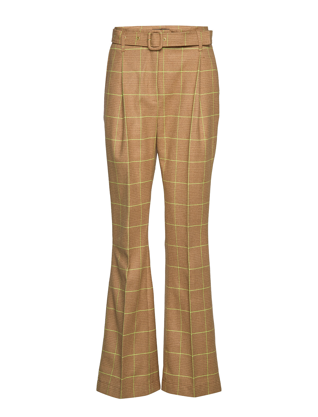 Birgitte Herskind Note Pants - CAMEL CHECKS