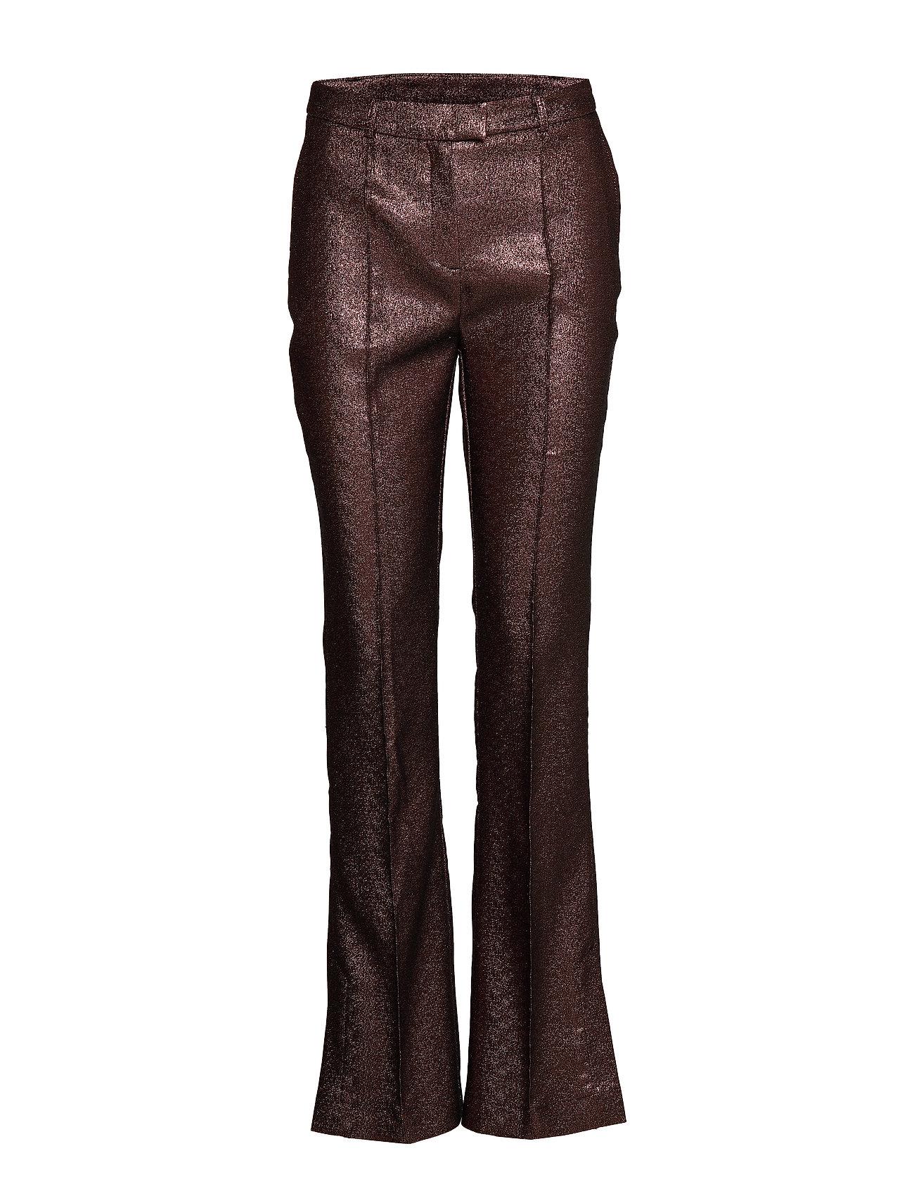 Image of Emma Pants Leather Leggings/Bukser Lyserød Birgitte Herskind (3220494601)