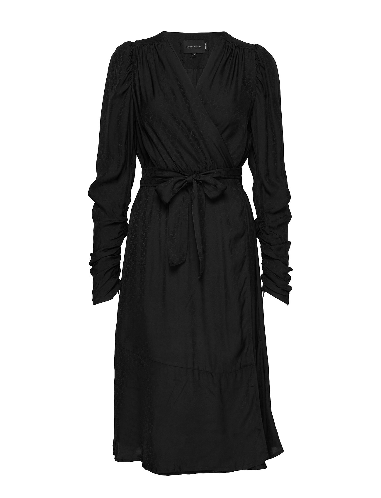 Birgitte Herskind Dolly  Wrap Dress - BLACK