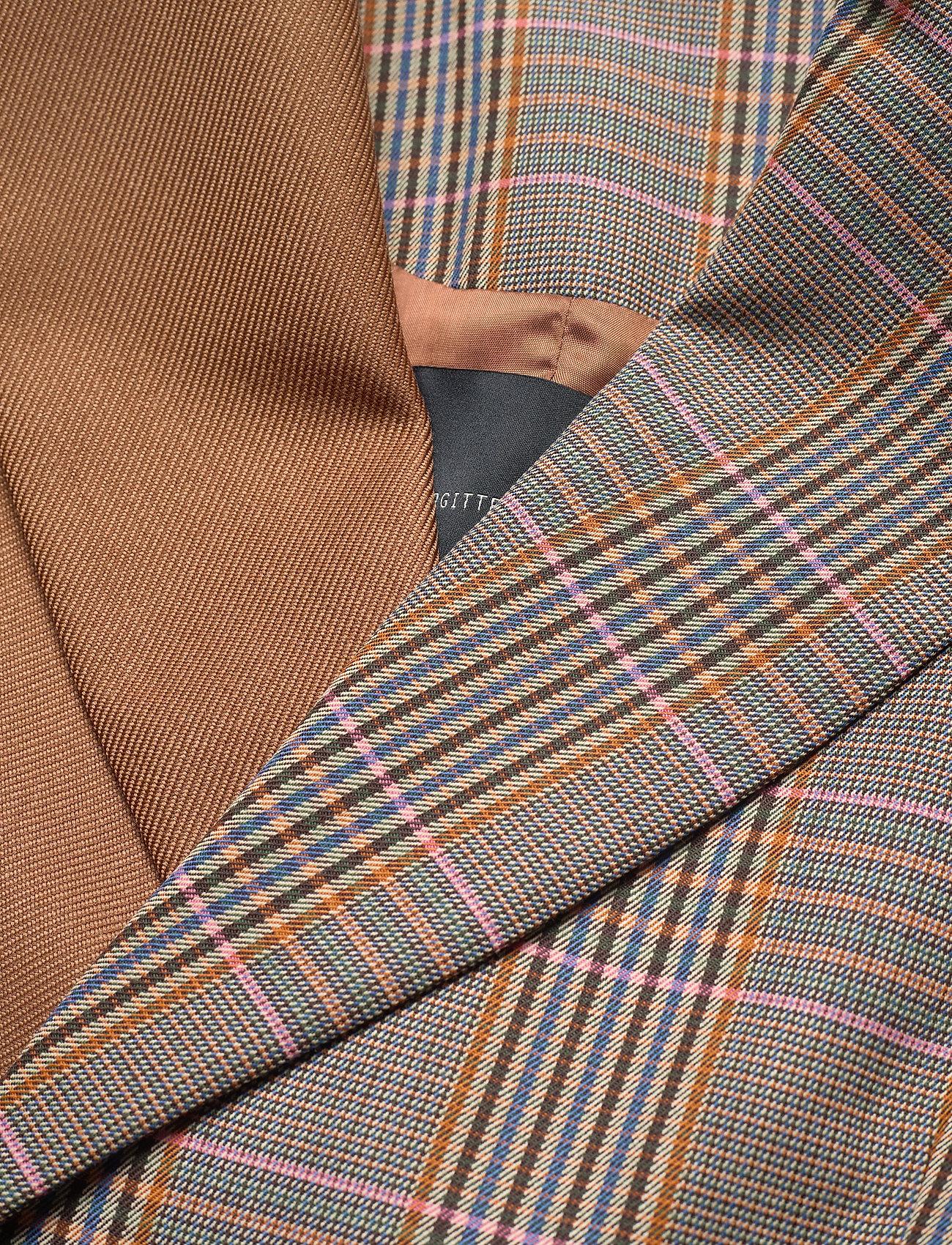Birgitte Herskind - Jensen Blazer - getailleerde blazers - pink checks - 1