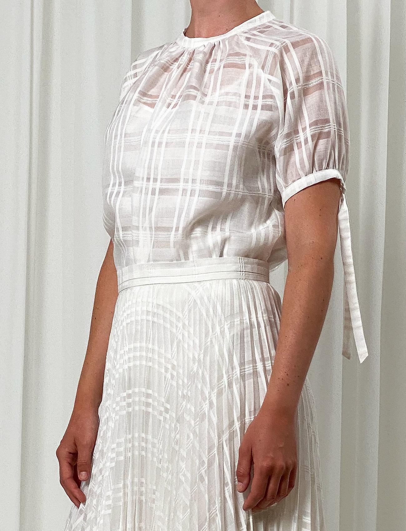 Birgitte Herskind - Gabriella Blouse - kortærmede bluser - white - 0