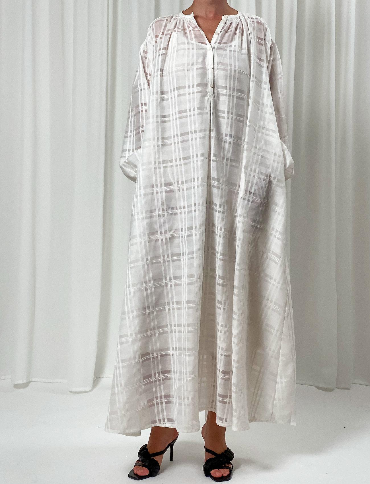 Birgitte Herskind - Karma Dress - skjortekjoler - white - 0