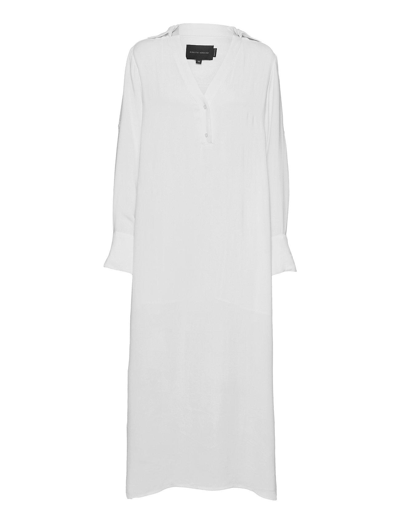 Core Dress Dresses Everyday Dresses Hvid Birgitte Herskind