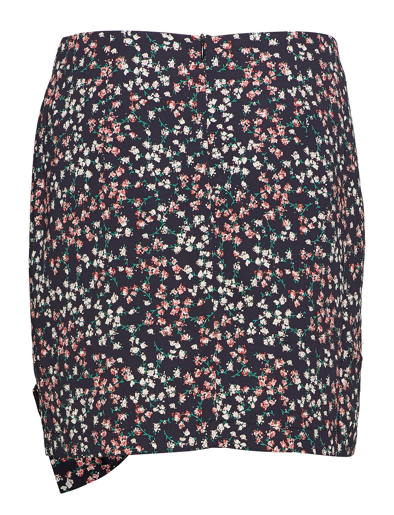Rosa Skirt Kort Nederdel Sort Birgitte Herskind