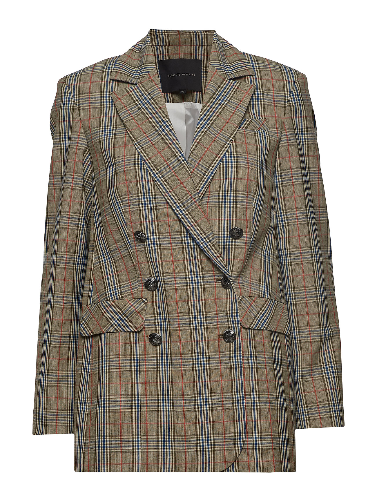 Birgitte Herskind Ginger Blazer - GREEN CHECKS