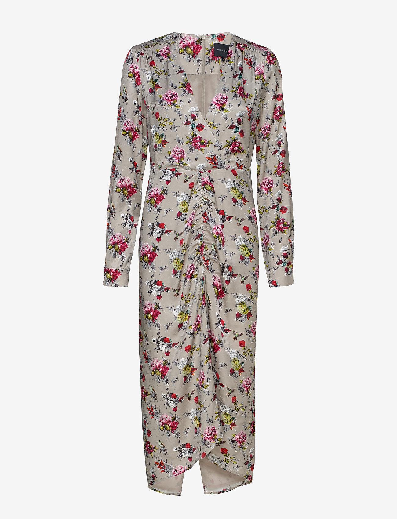 Birgitte Herskind - Aria Dress - midi kjoler - vintage rose - 0