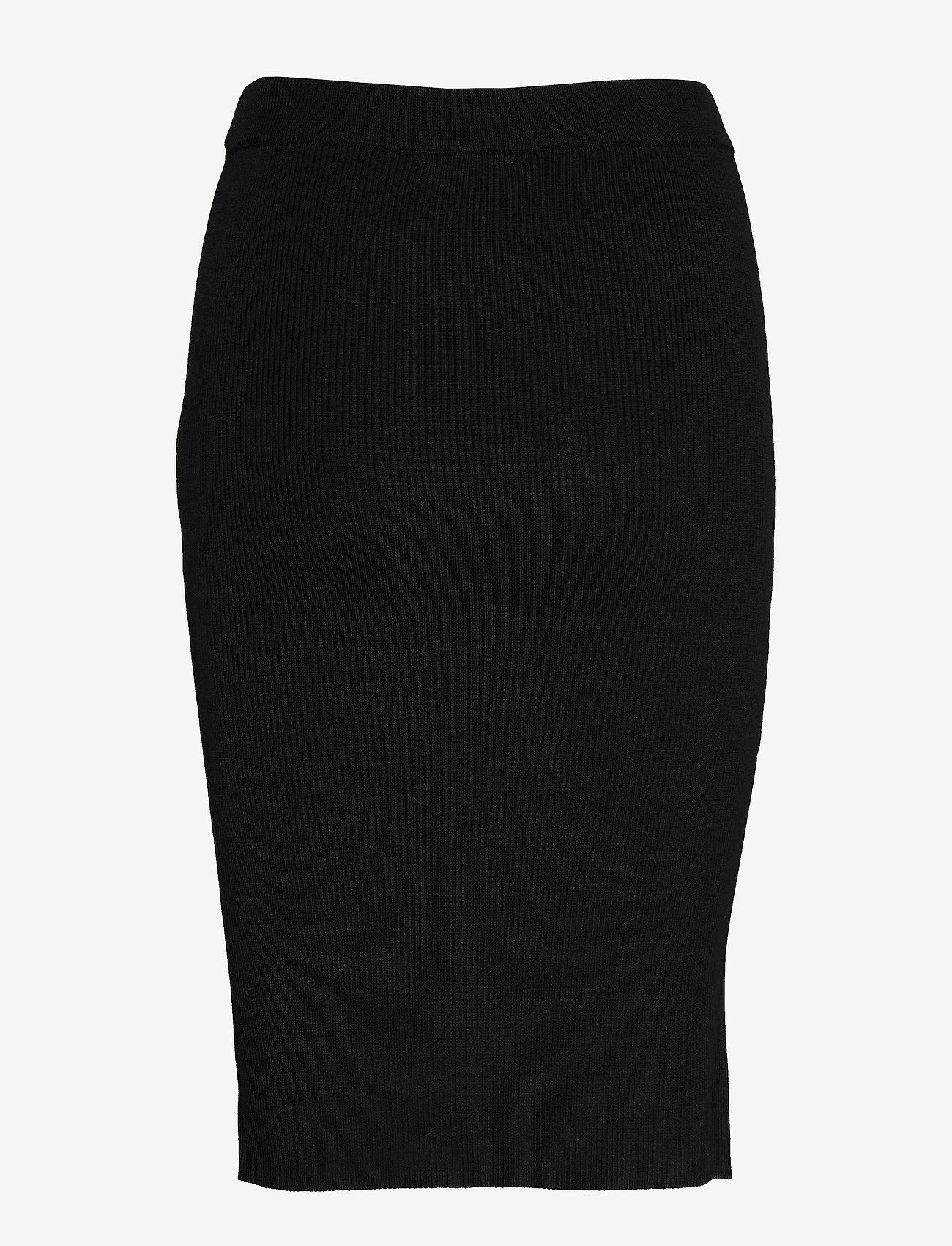 Rebecca Knitted Skirt (Black) (70.85 €) - Birgitte Herskind ORXXF