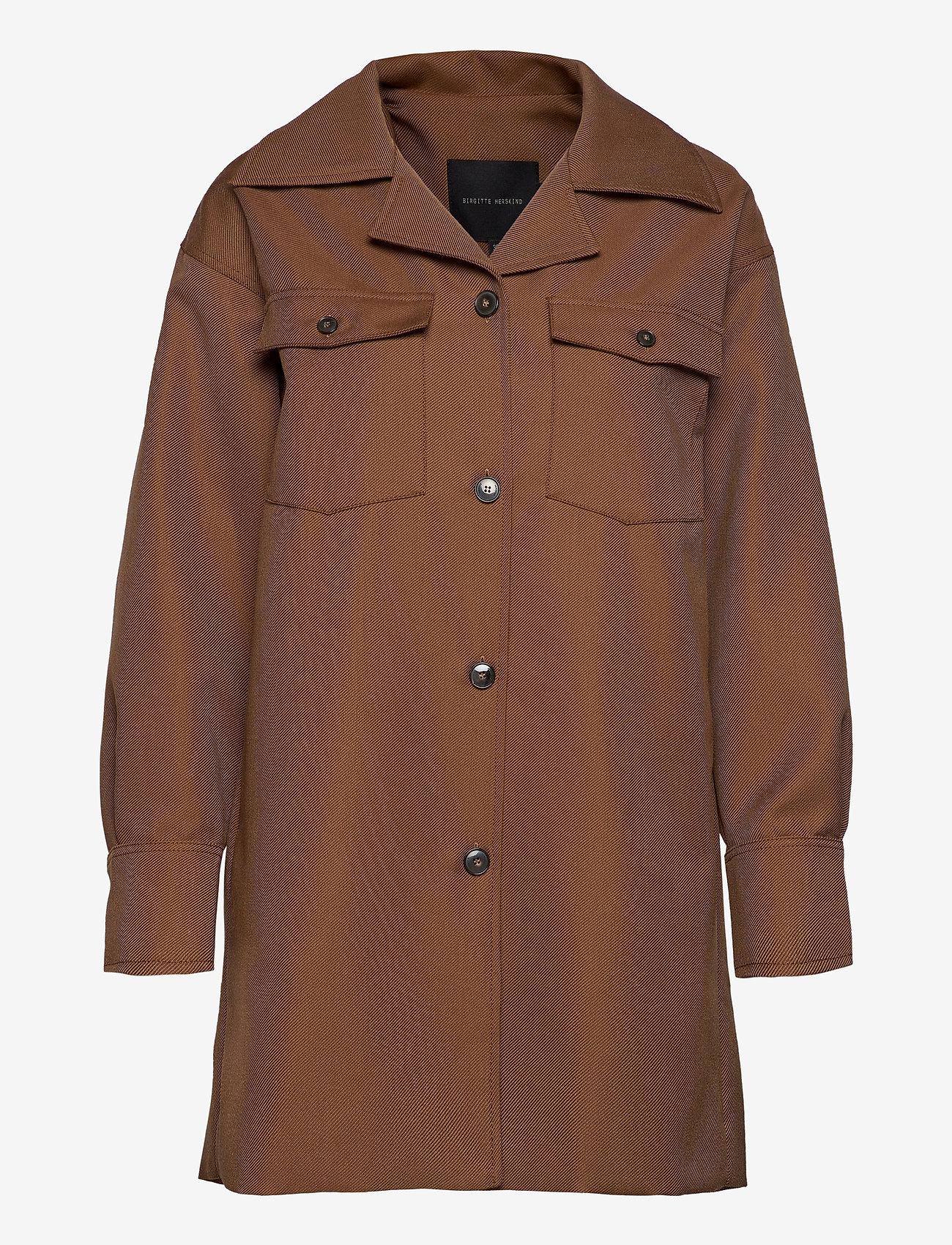 Birgitte Herskind - Amber Shirt - overshirts - brown - 0
