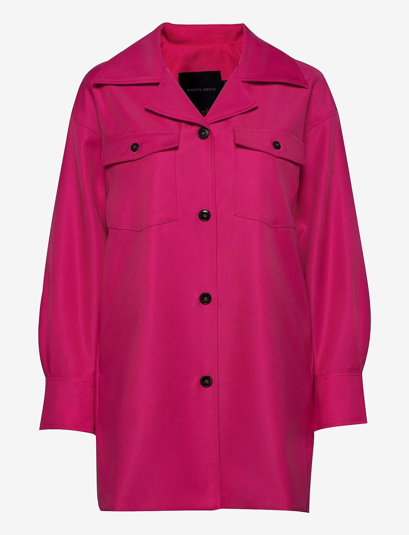 Birgitte Herskind - Amber Shirt - overshirts - pink - 0