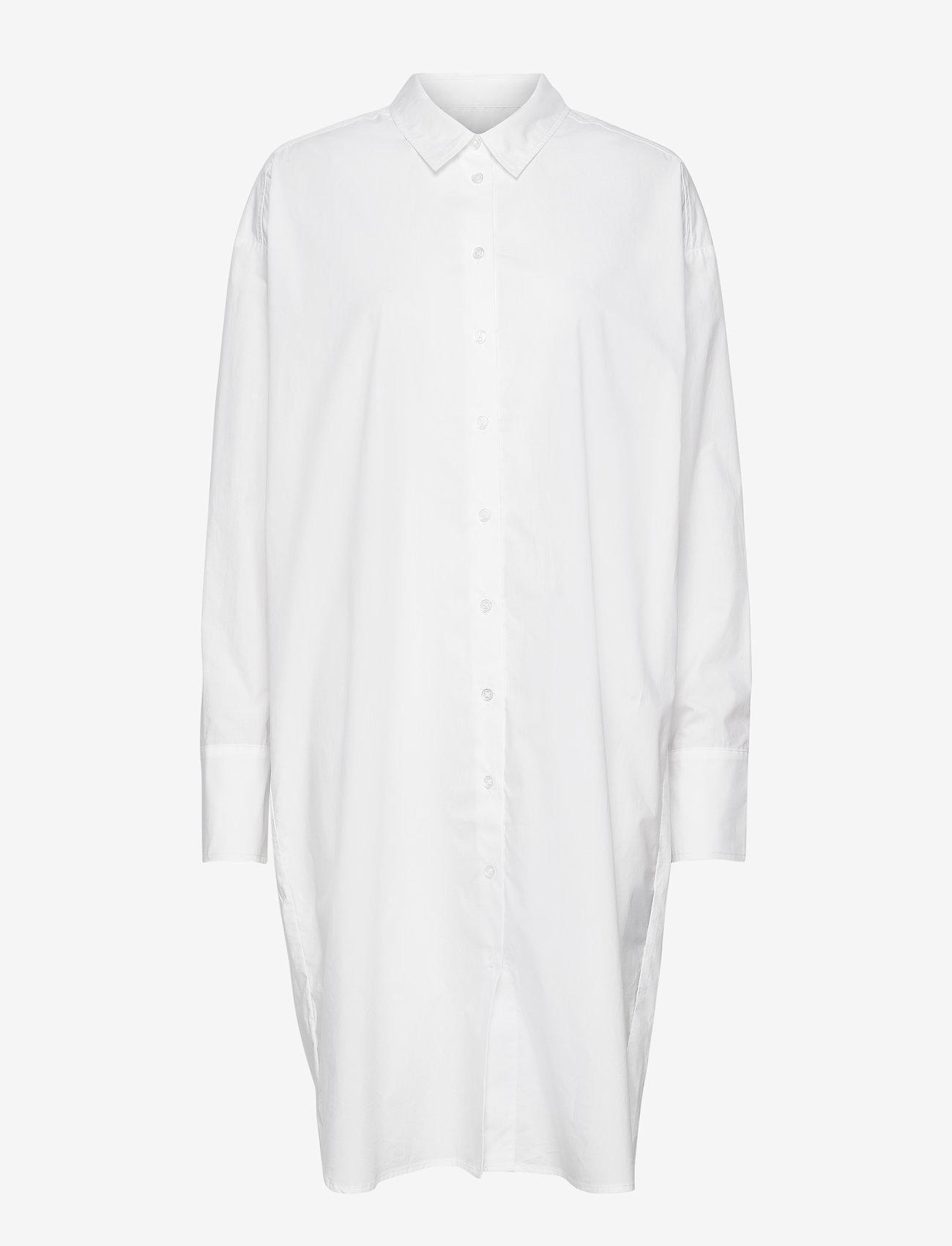Birgitte Herskind - Nilly Shirt Dress - sommerkjoler - white - 0