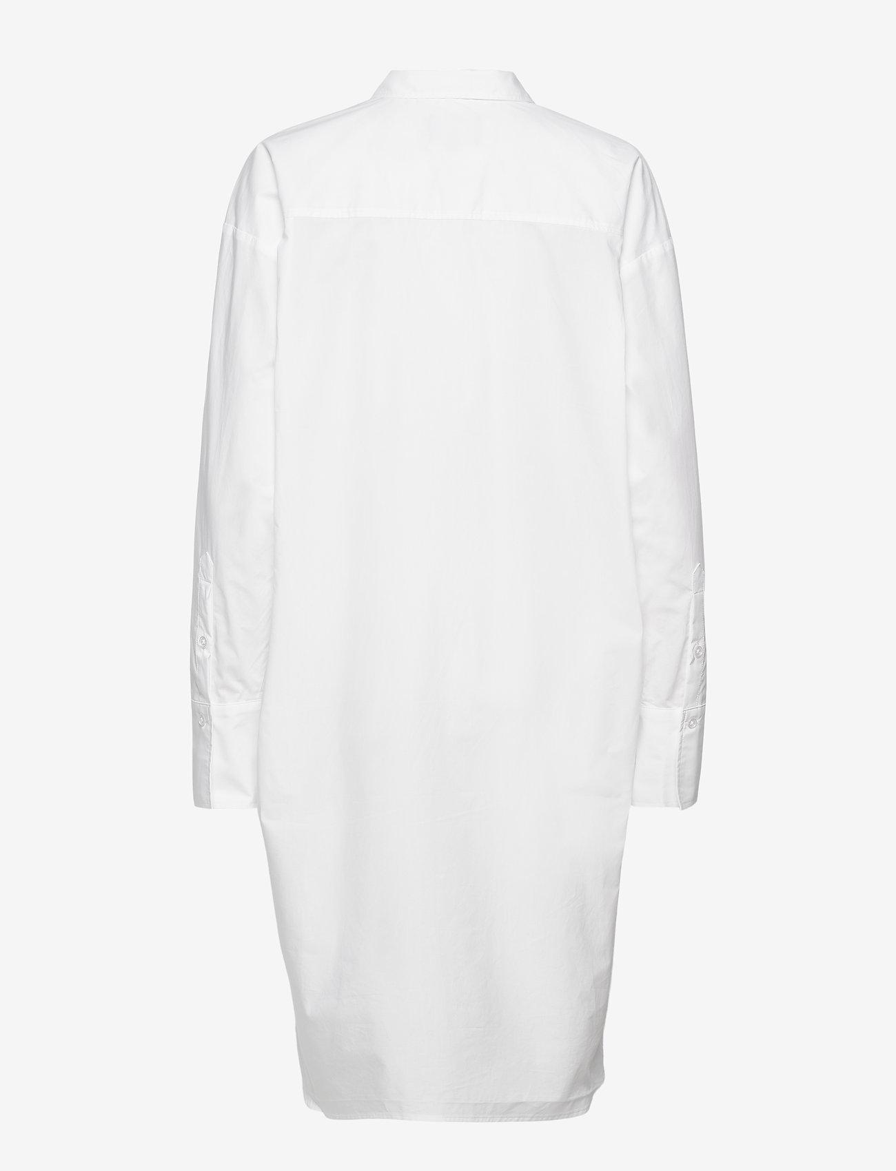 Birgitte Herskind - Nilly Shirt Dress - sommerkjoler - white - 1
