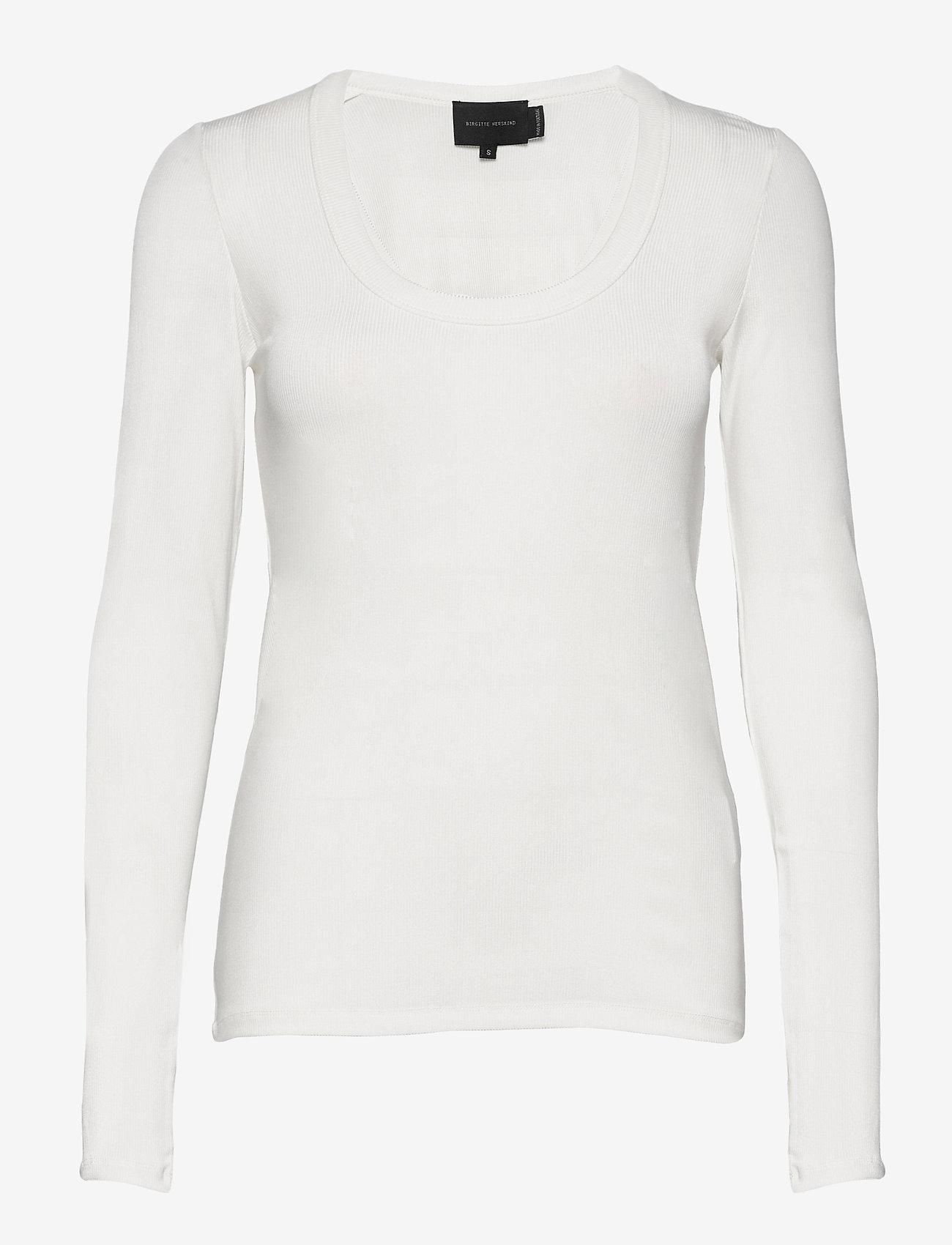 Birgitte Herskind - Indy T-Shirt l/s - langærmede toppe - white - 0