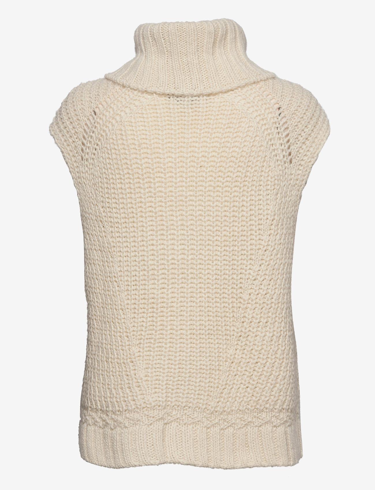 Birgitte Herskind - Vanya Knit Vest - strikveste - off white - 1