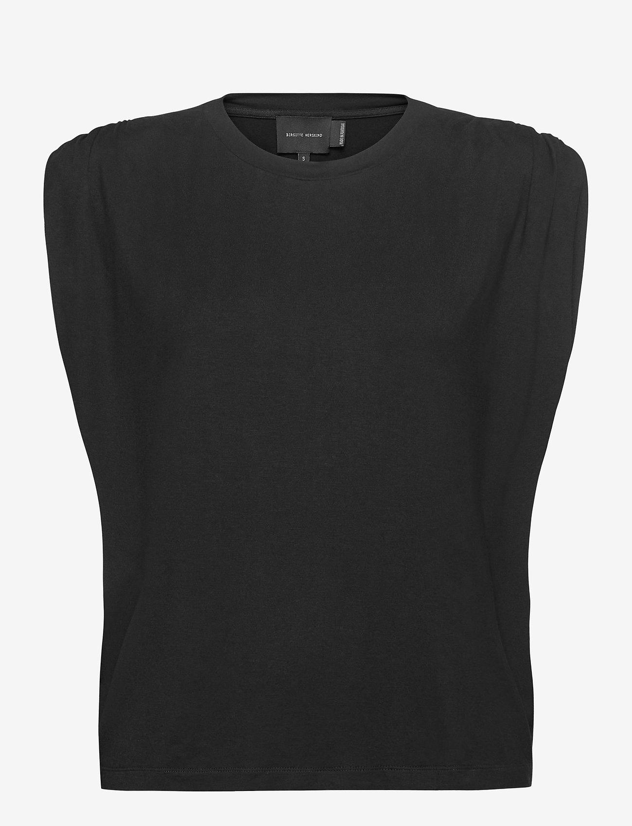 Birgitte Herskind - Sky T-shirt - Ærmeløse toppe - black - 0