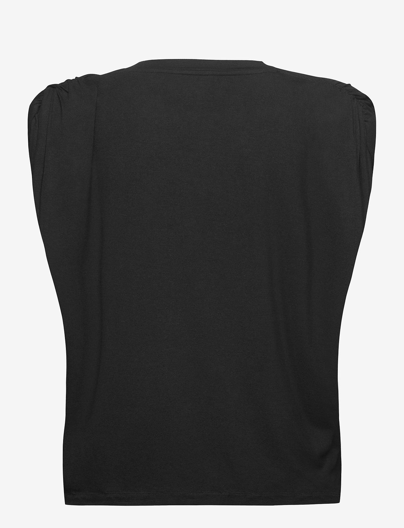 Birgitte Herskind - Sky T-shirt - Ærmeløse toppe - black - 1