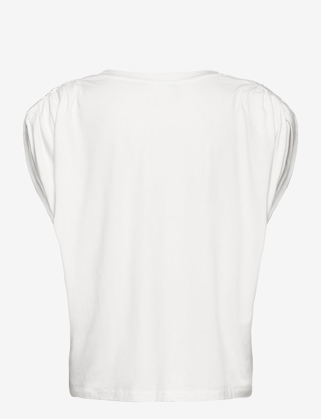 Birgitte Herskind - Sky T-shirt - Ærmeløse toppe - white - 1
