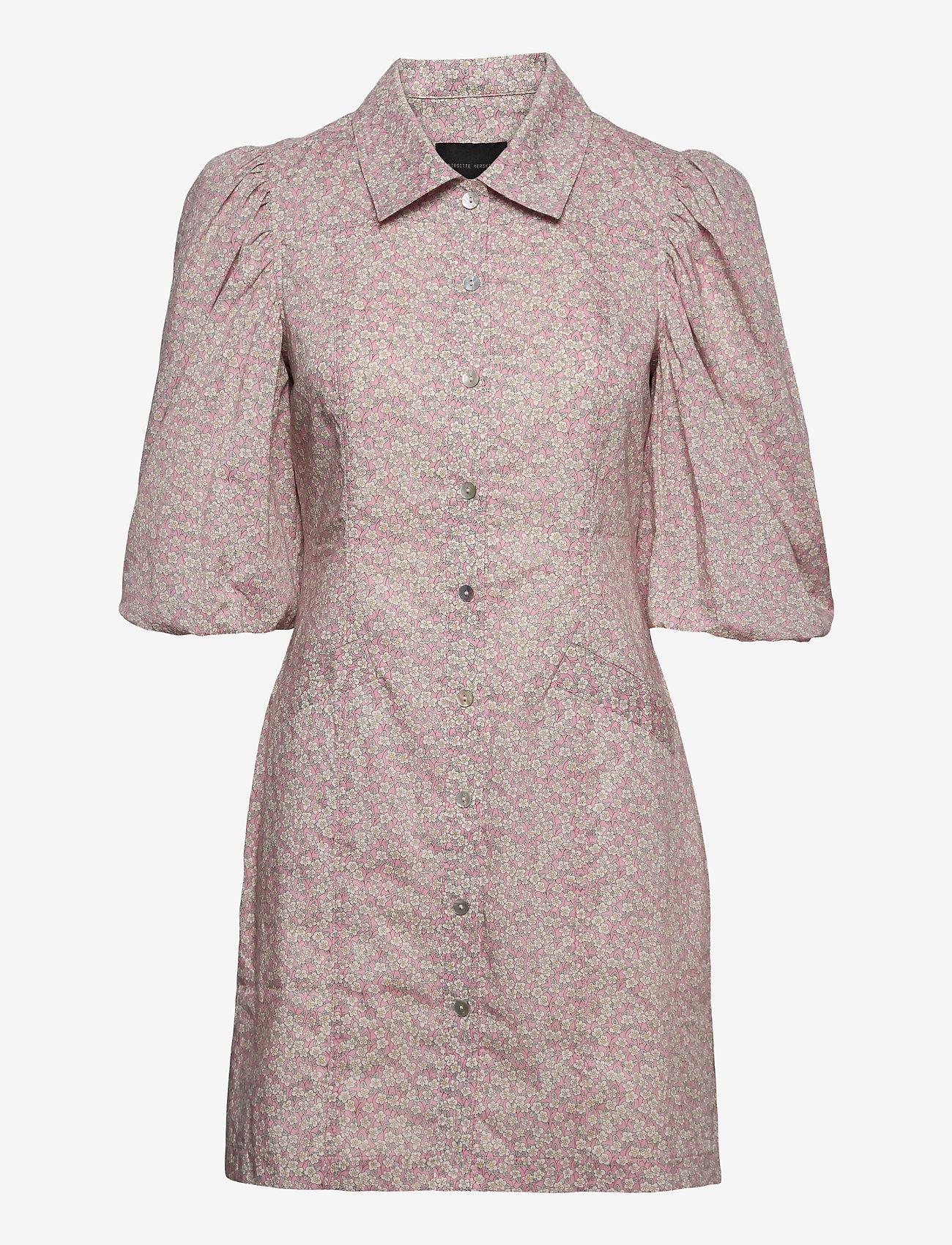 Birgitte Herskind - Ami Dress - sommerkjoler - pink flower liberty - 0