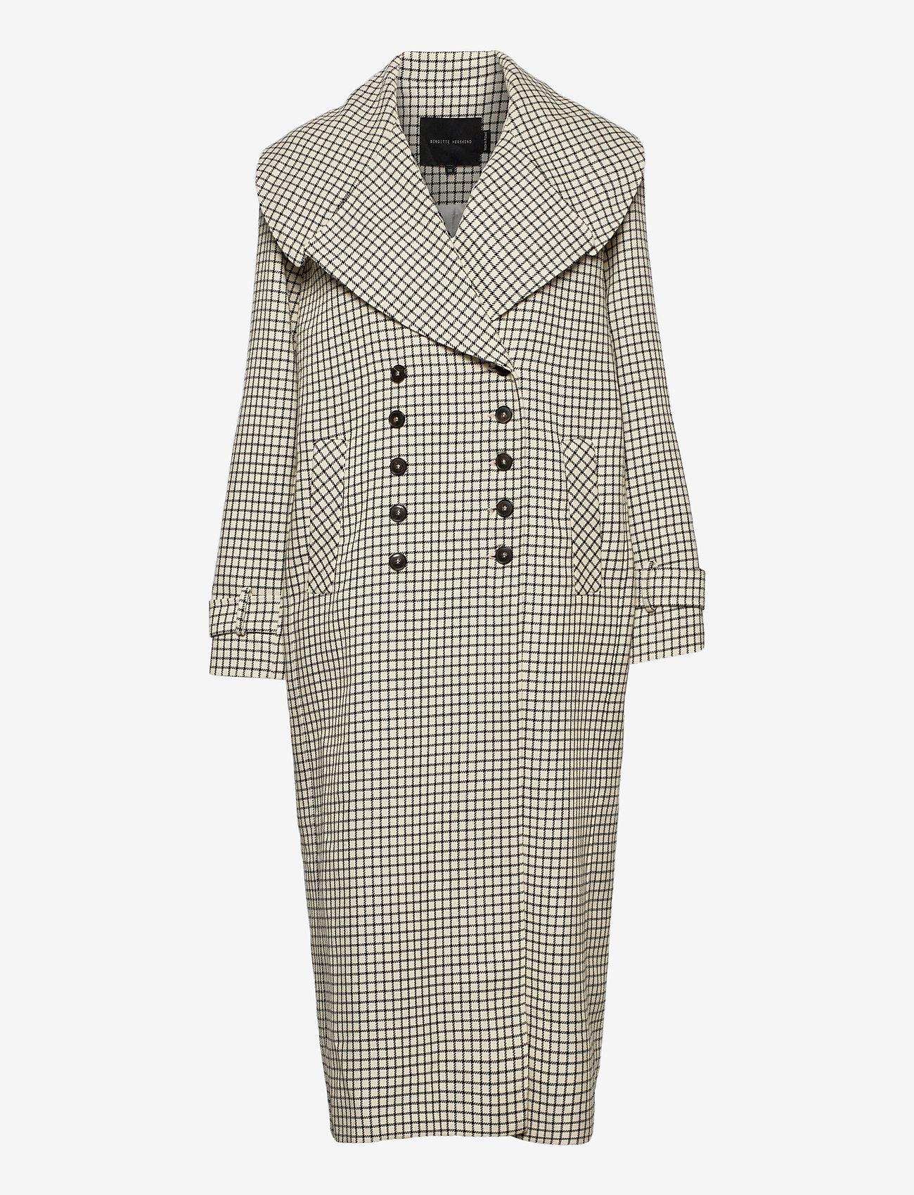 Birgitte Herskind - Kinsley Coat - trenchcoats - checks - 0