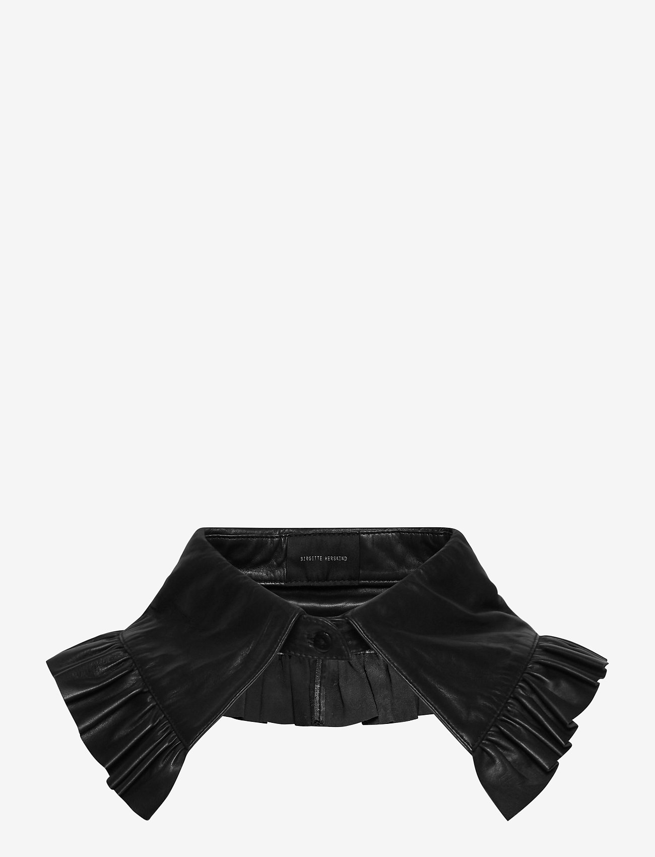 Birgitte Herskind - Collin Leather Collar - kragen - black - 0
