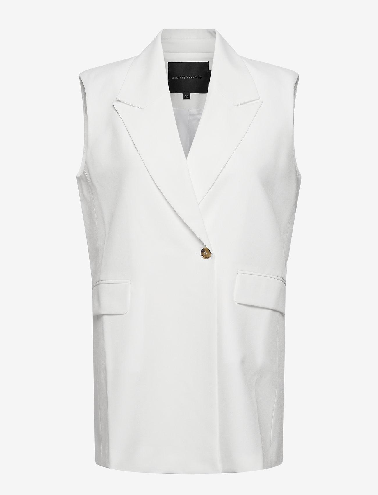 Birgitte Herskind - Phoebe Vest - knitted vests - off white - 0