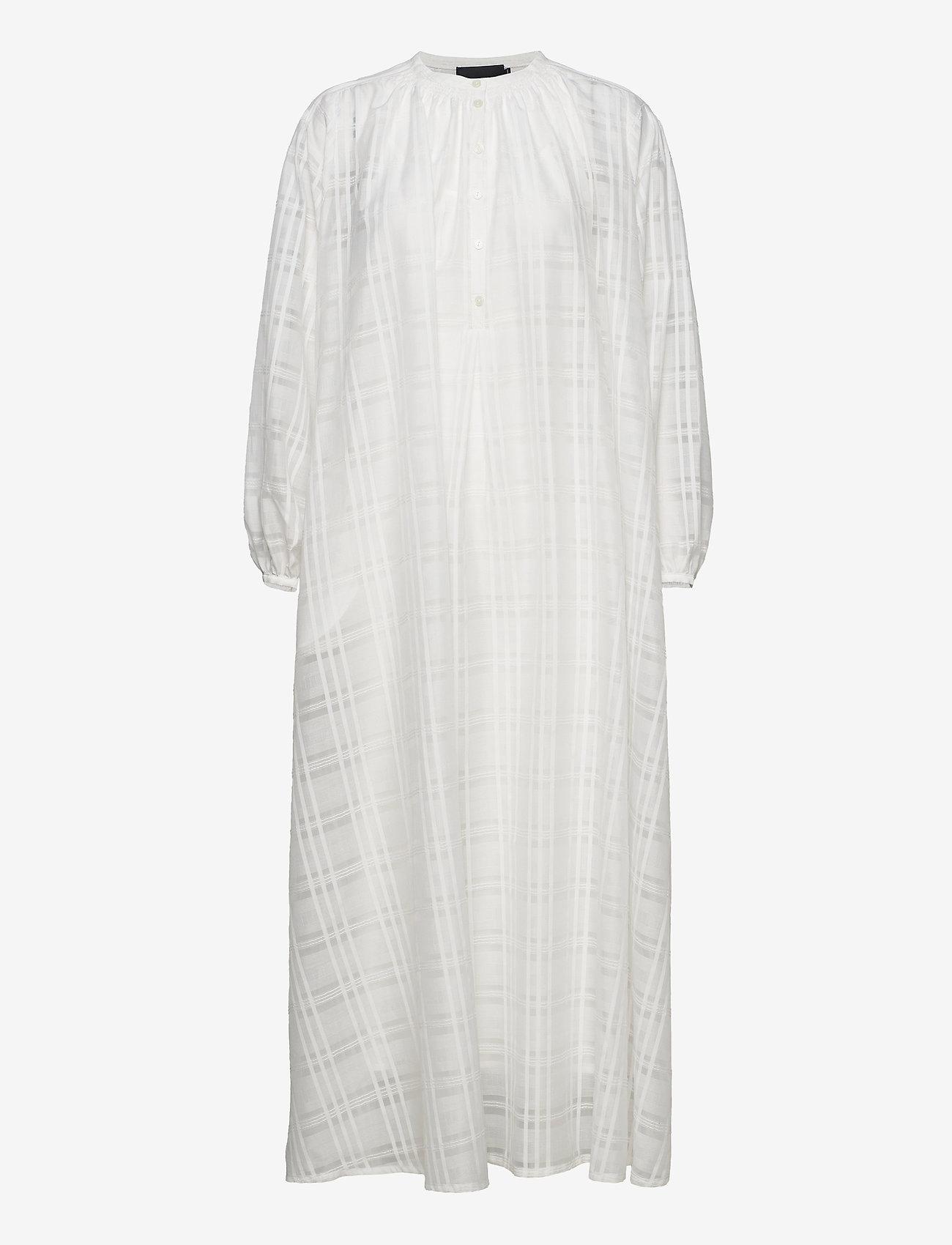Birgitte Herskind - Karma Dress - skjortekjoler - white - 1