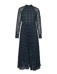 Nima Long Dress - TARTAN