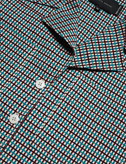 Birgitte Herskind - Seven Shirt - overhemden met korte mouwen - turquoise & brown checks - 2