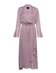 Rillo Dress - AOP PINK CHAIN
