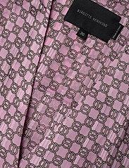 Birgitte Herskind - Rillo Dress - omlottklänning - aop pink chain - 3