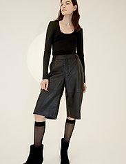Birgitte Herskind - Indy T-Shirt l/s - langærmede toppe - black - 0