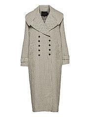 Kinsley Coat - CHECKS