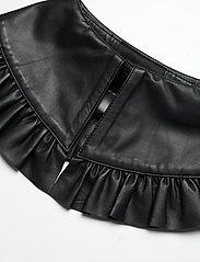 Birgitte Herskind - Collin Leather Collar - kragen - black - 2