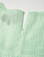 Birgitte Herskind - Silla Dress - sommerkjoler - light green checks - 3
