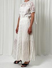 Birgitte Herskind - Nessa Skirt - maxi nederdele - white - 0