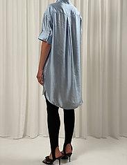 Birgitte Herskind - Melody Shirt Dress - skjortekjoler - light blue - 3