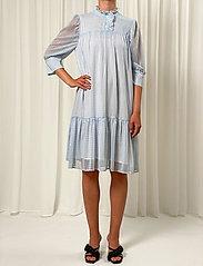 Birgitte Herskind - Liva Dress - sommerkjoler - light blue checks - 0