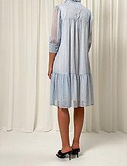 Birgitte Herskind - Liva Dress - sommerkjoler - light blue checks - 3