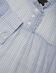 Birgitte Herskind - Liva Dress - sommerkjoler - light blue checks - 4