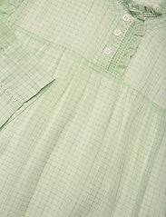 Birgitte Herskind - Liva Dress - sommerkjoler - light green checks - 2