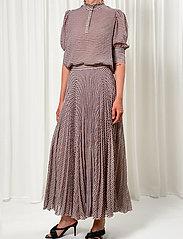 Birgitte Herskind - Nessa Skirt - maxi nederdele - summer checks - 0