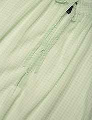 Birgitte Herskind - Lakiin Blouse - kortærmede bluser - light green checks - 2