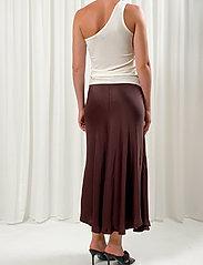 Birgitte Herskind - Sia Skirt - maxi nederdele - coffee brown - 3