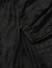 Birgitte Herskind - Karma Dress - skjortekjoler - black - 4