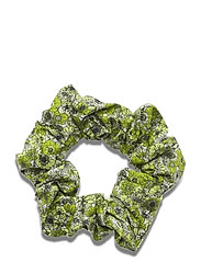Scrunchie - LIME FLOWER