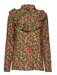 Iris Shirt - GARDEN FLOWERS