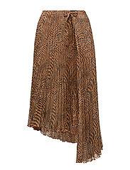 Dixie Skirt - ORANGE LEO