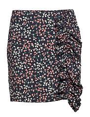 Rosa Skirt - NAVY FLOWER