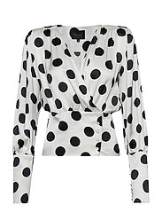Mie Blouse - WHITE DOTS