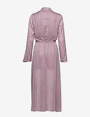 Birgitte Herskind - Rillo Dress - omlottklänning - aop pink chain - 2